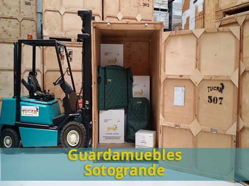 guardamuebles Sotogrande